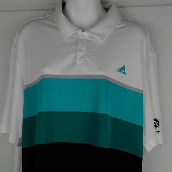 Camisas de polo de golf Adidas ClimaCool hombre  XL VGC poshmark SS